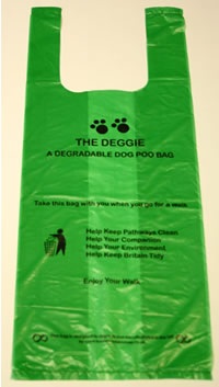 biodegradable pet waste bag - The Deggie